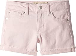 Jenna Stretch Cuffed Shorts in Pale Lilac (Big Kids)