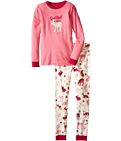 Hatley Kids - Good Night Deer Pajama Set (Toddler/Little Kids/Big Kids)