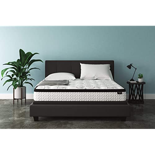Ashley Furniture Signature Design - 12 Inch Chime Express Hybrid Innerspring Mattress - Bed in a