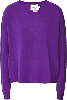 Absolut Cashmere Women's Cashmere Sapin Jumper Dark Purple