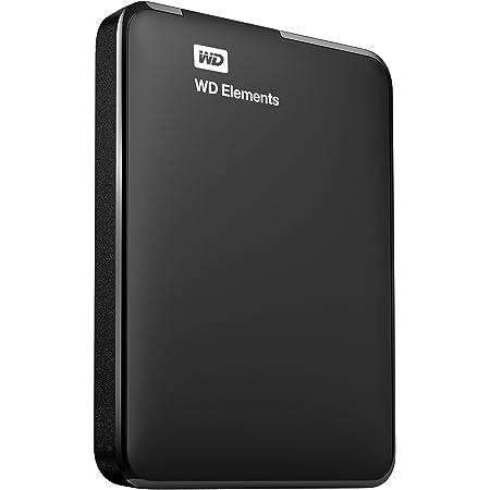 Western Digital Elements 2TB USB 3.0 Portable External Hard Drive (WDBU6Y0020BBK-EESN)