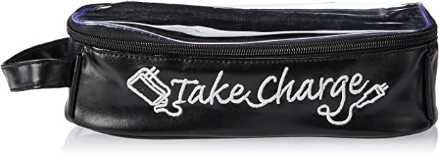 Miamica Take Charge Large Charger/Electronics Org, Black, One Size