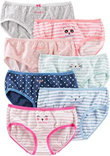 Carter's Girls' 7-Pack Print Days Underwear