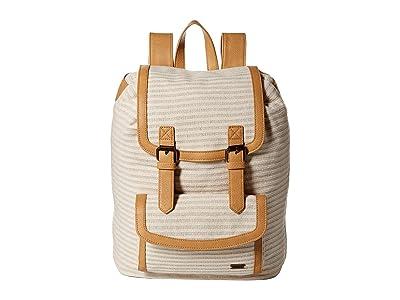 Roxy Love Poem Backpack (Camel) Backpack Bags