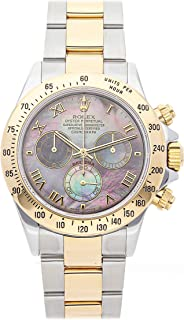 Rolex Daytona Mechanical (Automatic) Black Dial Mens Watch 116523 (Certified Pre-Owned)