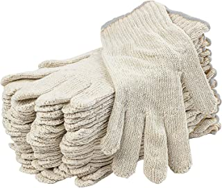string knit work gloves
