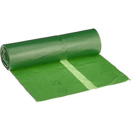 Bolsa de basura DEISS PREMIUM 70 litros, verde, tipo 60