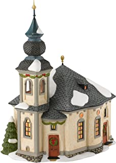 Department 56 Alpine Village Ave Maria Chapel Lit House, 7.9 inch