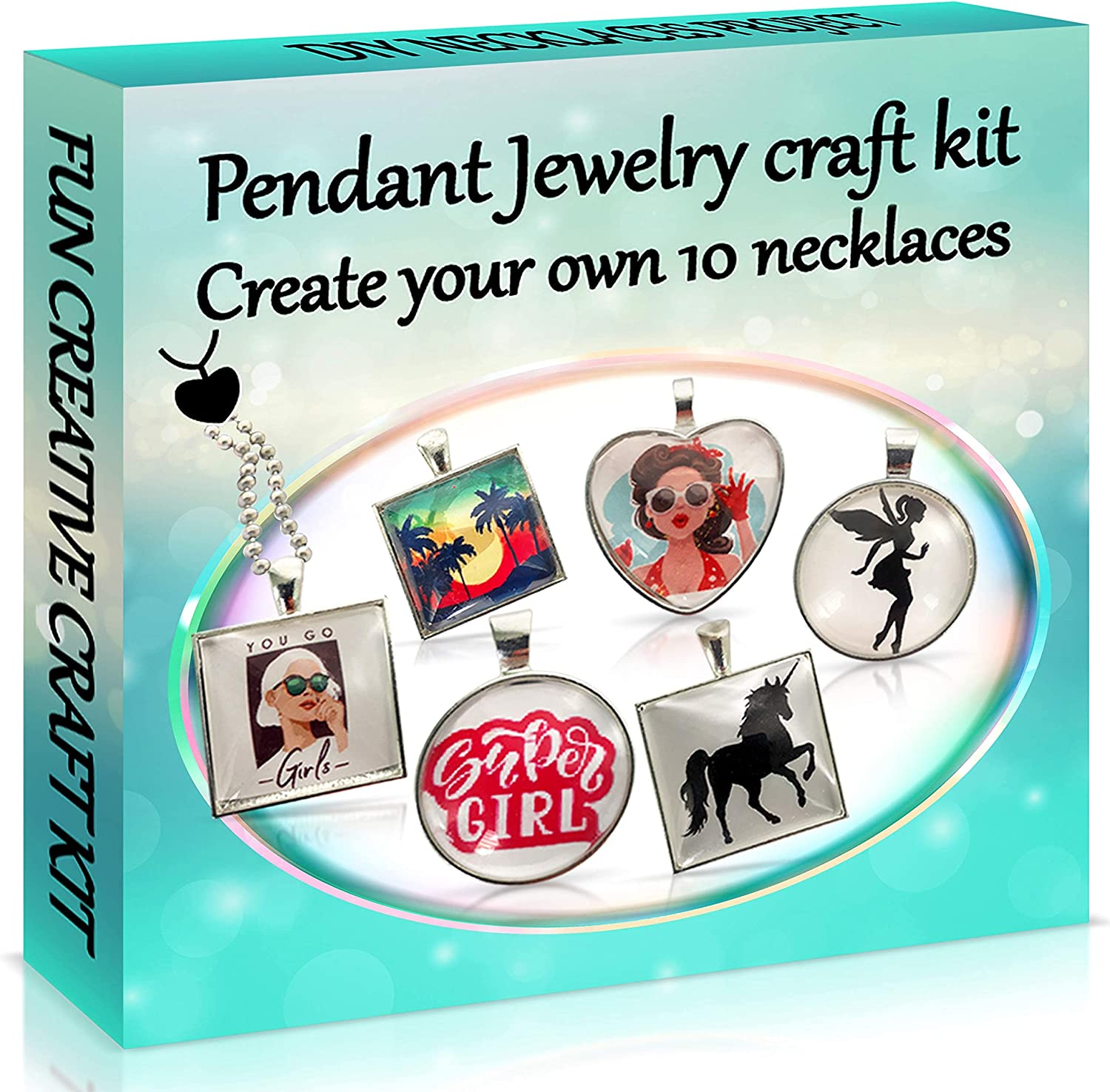 2Pepers DIY Pendant Jewelry Making Craft Translated 10-in-1 Arts Max 87% OFF and Kit