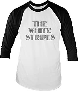 The White Stripes Unisex Baseball T-Shirt Colours