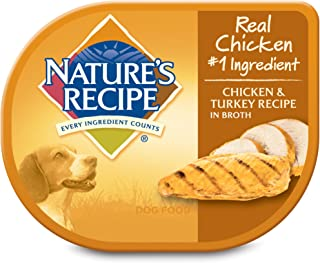 Nature's Recipe Wet Dog Food Chicken And Turkey Recipe In Broth (12 Pack), 2.75 Oz