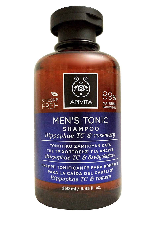 複製講義海嶺アピヴィータ Men's Tonic Shampoo with Hippophae TC & Rosemary (For Thinning Hair) 250ml [並行輸入品]