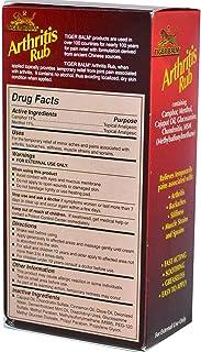 Tiger Balm Arthritis Rub Alcohol-Free 113 ml