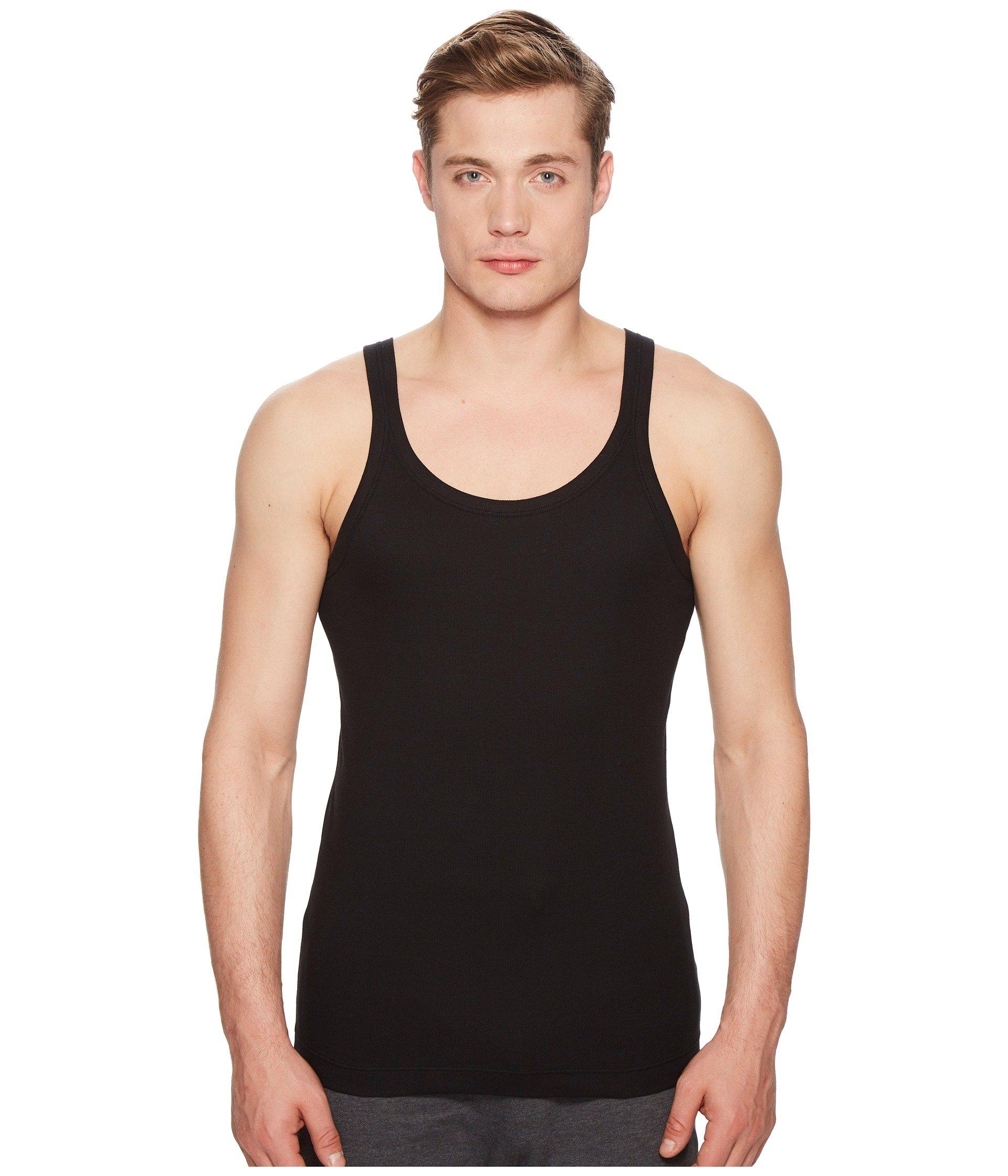 Camiseta sin Manga para Hombre Dolce andamp; Gabbana Cotton Stretch Marcello t-shirt Top  + Dolce & Gabbana en VeoyCompro.net