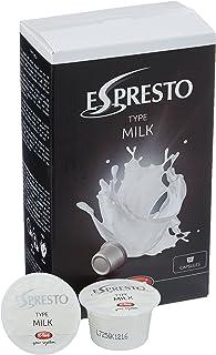 K-Fee Espresto Milk, 16 Cápsulas de Leche para Bebidas Calientes