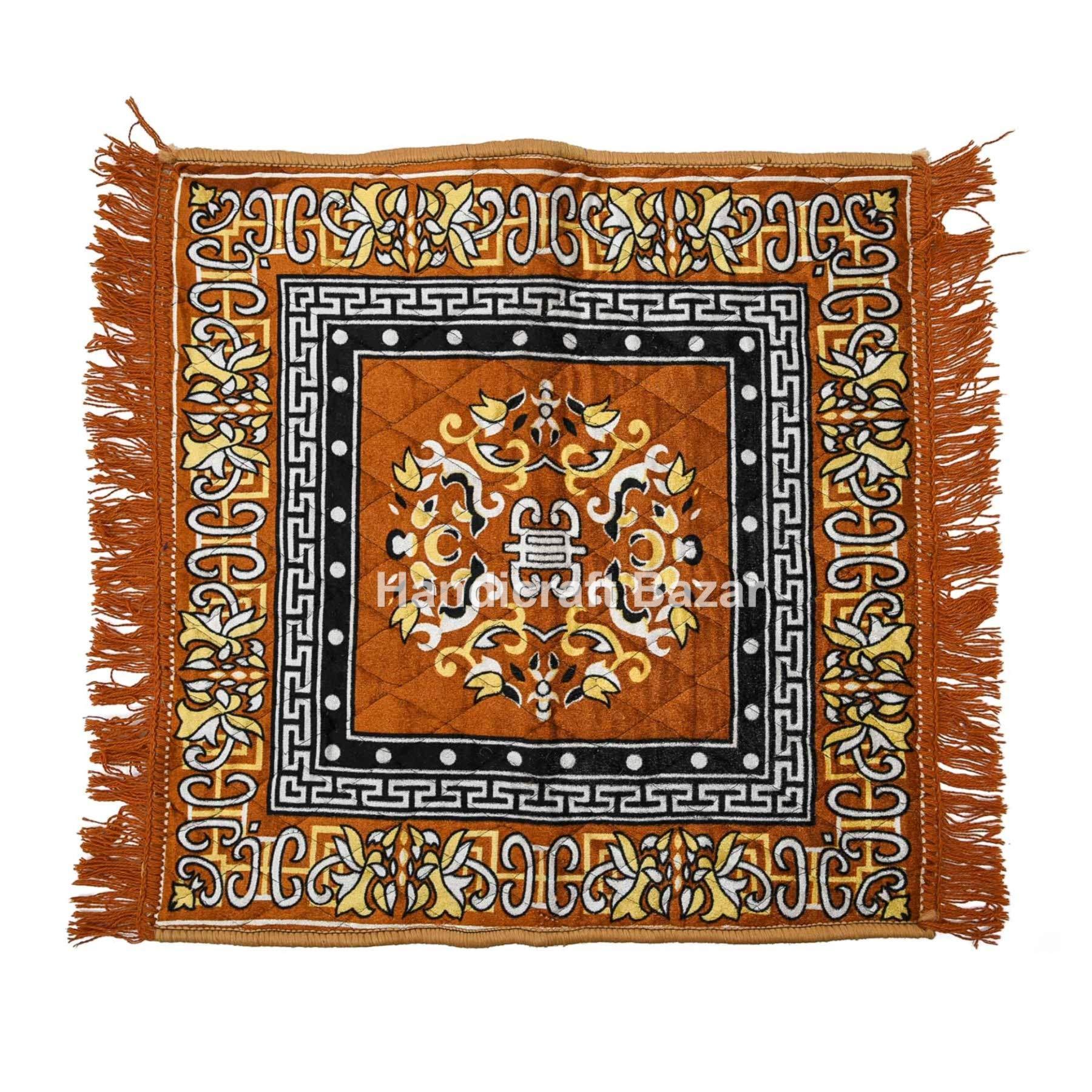 Handicraft Bazar - Tapete Rectangular de algodón para Puerta de ...