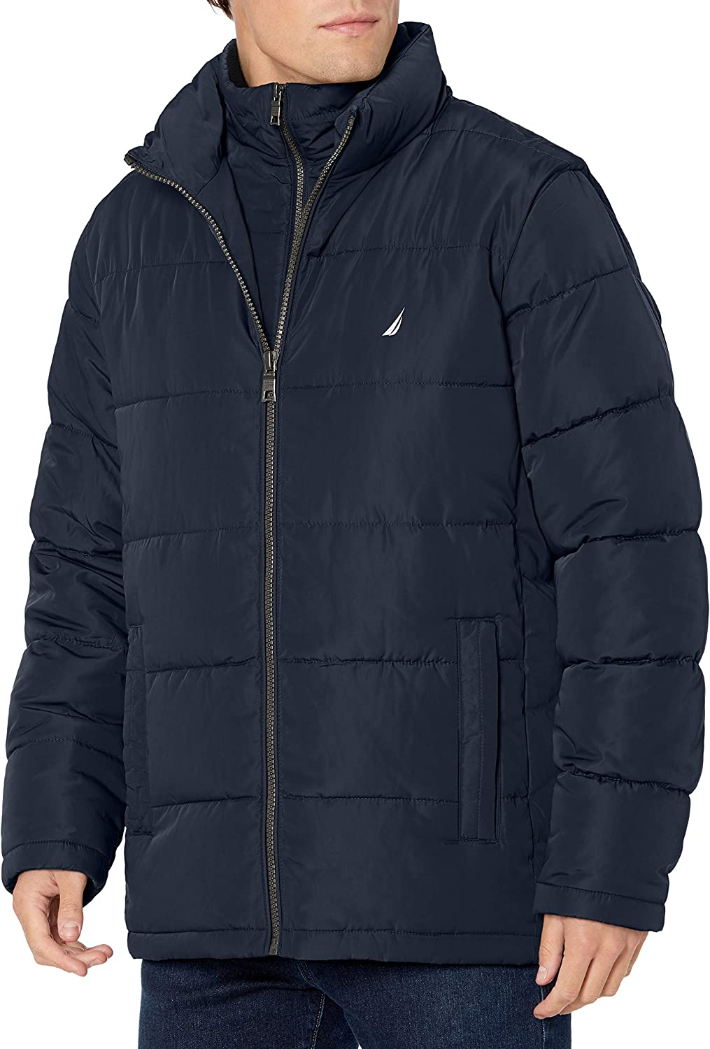 Nautica Men's Poly with OFFicial site Bib 70% OFF Outlet Puffer