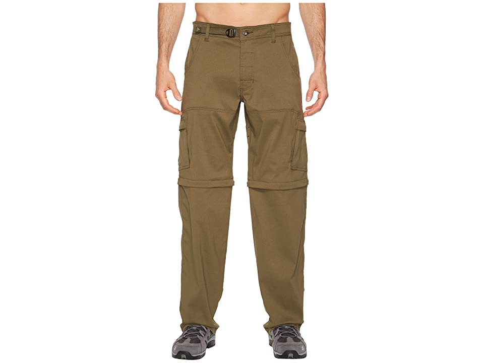 Prana Stretch Zion Convertible Pant (Cargo Green) Men