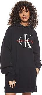 Calvin Klein Jeans Women's Washed Monogram Oversized Hd Heavyweight Knits