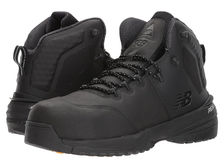 (ニューバランス) New Balance メンズランニングシューズ?スニーカー?靴 MID989v1 Black/Black ブラック/ブラック 16 (34cm) D