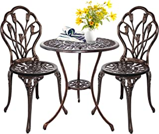 wrought iron garden table set