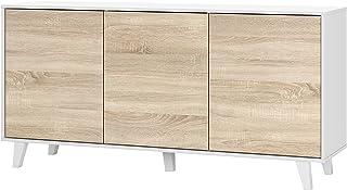 Amazon.es: muebles tv madera blanco