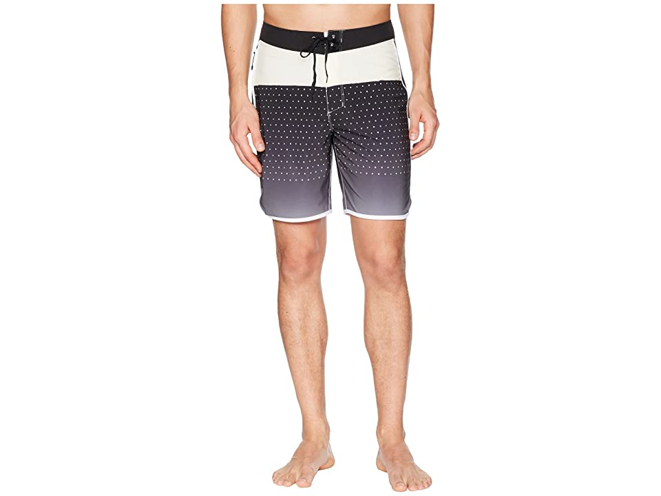Hurley Phantom Motion Third Reef 18 Boardshorts (Black) Men