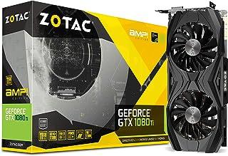 Zotac NVIDIA GeForce GTX 1080 Ti 11 GB AMP Edition Graphics Card - Black