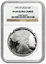 1995 W Proof Silver American Eagle PF-69 NGC Silver PR-69 NGC