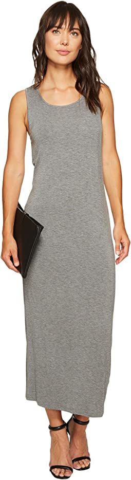 Subtle Slub Tees Dress with Open Back KS6K7978