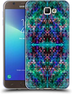 Official Amy Sia Ocean Lace Kaleidoscope Soft Gel Case Compatible for Samsung Galaxy J7 Prime 2 2018