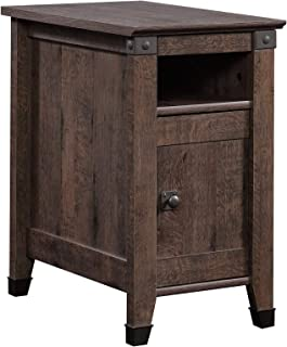 Sauder 420422 Carson Forge Side Table, L: 14.17