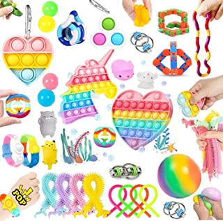 32 Pcs Sensory Relief Toys Set Cheap, Fidget Toys Set For Kids Stress And Anxiety Relief Fidget Toys, Cheap Fidget Toys Ki...