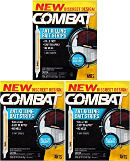 Combat Ant Killing Bait Strips, 5 Count (Pack of 3)