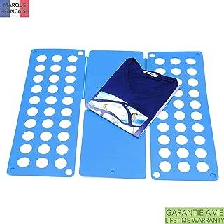 Takit Tabla para Doblar Ropa Cielo Azul - 70x59cm - Tabla para Doblar Camisas - Tabla para Doblar Vestidos Pantalones Toallas Camisetas/Organizador De Ropa