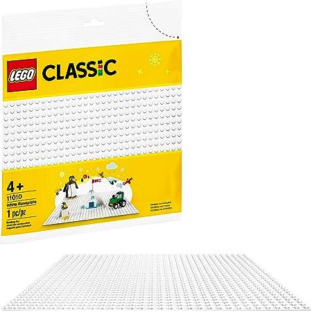 Base de construcción para niños LEGO Classic 11010 Base Blanca (1 pieza)
