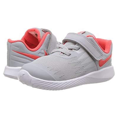 Nike Kids Star Runner (Infant/Toddler) (Wolf Grey/Bright Crimson/Black/White) Boys Shoes