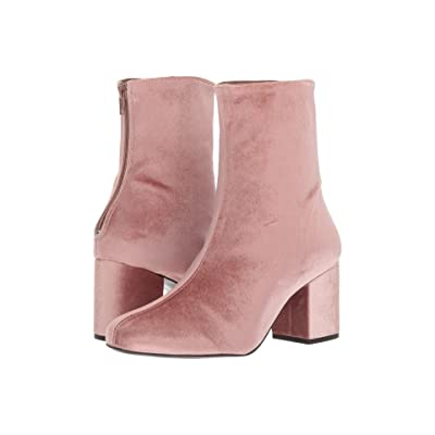 Free People Cecile Velvet Boot (Rose) Women