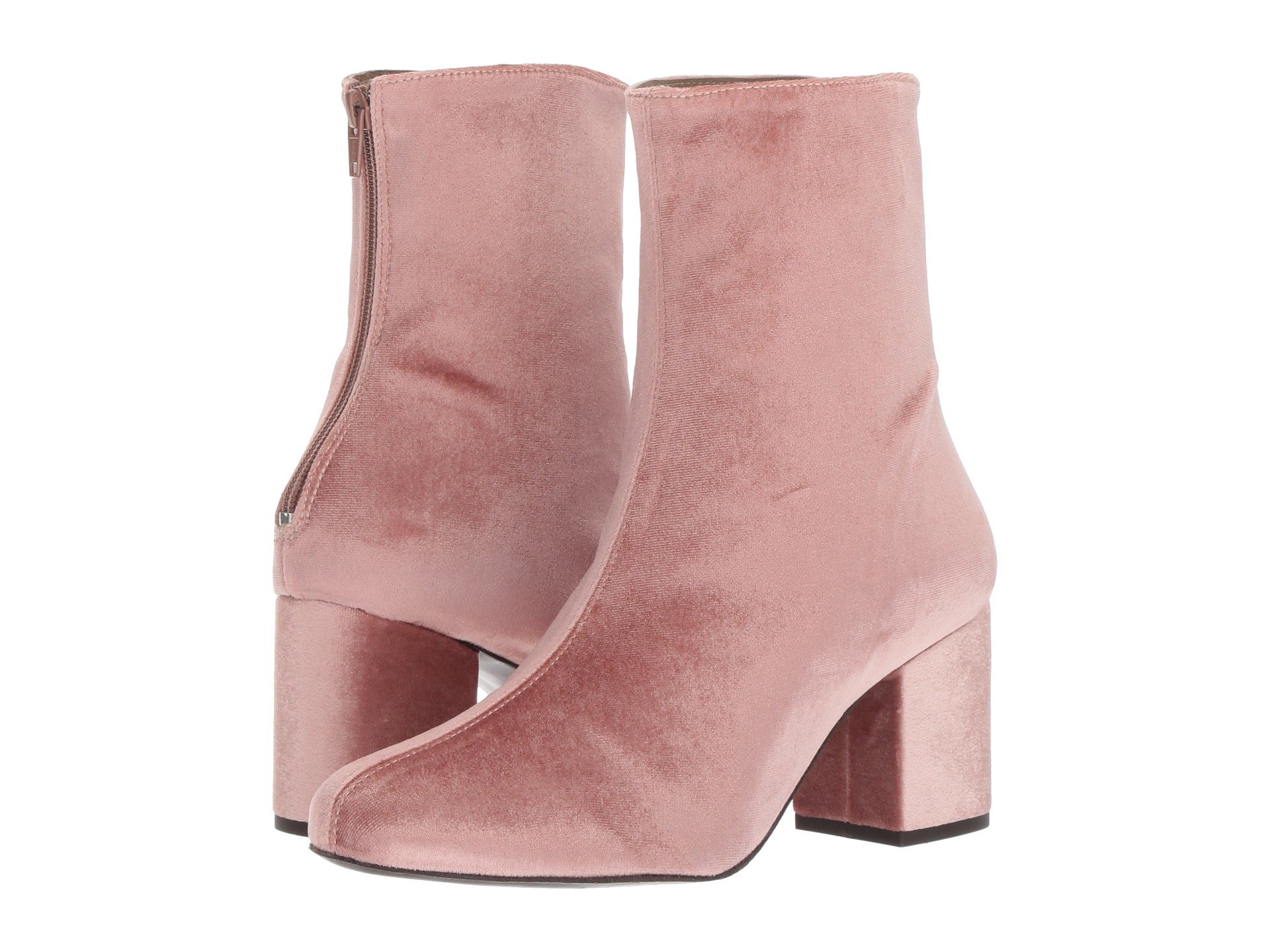 Cecile Velvet Boot