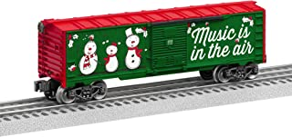 Lionel 684748 Christmas Music Boxcar - #18, O Gauge, Red, White, Green black