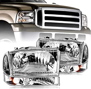 Best 1996 ford f250 headlight assembly Reviews