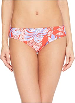 Red Carter Paradiso Reversible Hipster Bottom