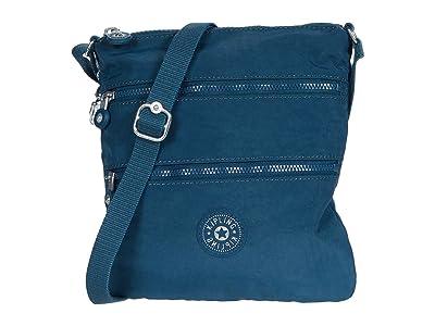 Kipling Keiko Crossbody (Night Teal) Cross Body Handbags
