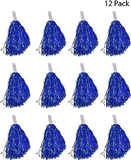 Windy City Novelties Cheerleader Pom Poms - 12 Pack