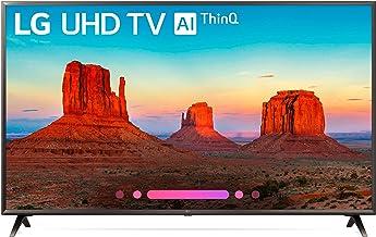 LG Electronics 55UK6300PUE 55-Inch 4K Ultra HD Smart LED TV (2018 Model) (Renewed)