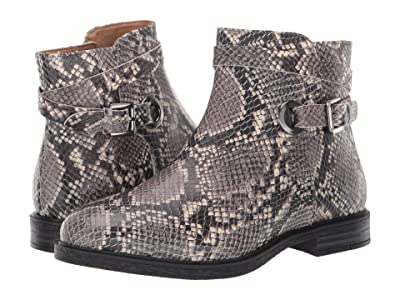 Hush Puppies Bailey Strap Boot (Natural Snake Leather) Women