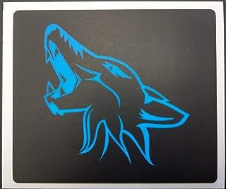 ZIC Motorsports Sun Visor Warning Label Blackouts fits 2015-2019 Ford Mustang - Blue Coyote