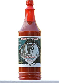Zombie Cajun The Antidote Hot Sauce, Bottle of Louisiana Spice Cayenne and Habanero Pepper Recipe, 6oz