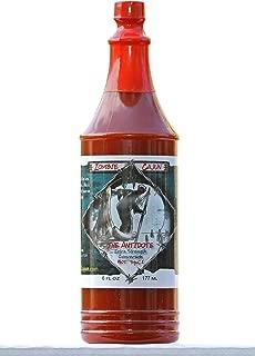 Zombie Cajun The Antidote Hot Sauce, Bottle of Louisiana Spice Cayenne and Habanero Pepper Recipe, 6oz