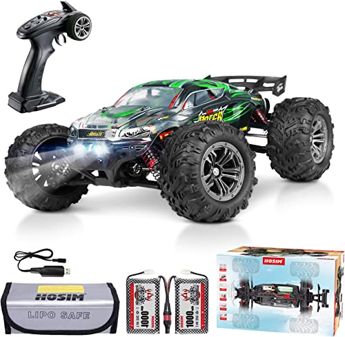 Hosim 2845 Brushless RC Car 1:16 Scale Remote Control RC Monster Truck , All Terrain 4WD High Speed 52KM/h Off-Road W...